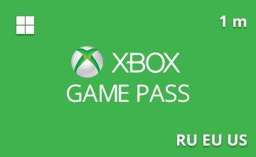Подарочная карта Xbox Game Pass 1 мес. RU/EU/US— gift card в интернет-магазине подарочных карт PlanetCards