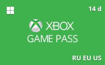 Подарочная карта Xbox Game Pass 14 д. RU/EU/US— gift card в интернет-магазине подарочных карт PlanetCards