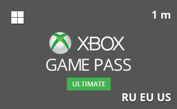 Подарочная карта Xbox Game Pass Ultimate 1 мес. RU/EU/US— gift card в интернет-магазине подарочных карт PlanetCards