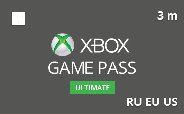 Подарочная карта Xbox Game Pass Ultimate 3 мес. RU/EU/US - gift card в интернет-магазине подарочных карт PlanetCards