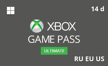 Подарочная карта Xbox Game Pass Ultimate 14 д. RU/EU/US— gift card в интернет-магазине подарочных карт PlanetCards